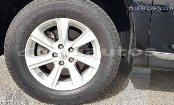 Buy Import Toyota Highlander Black Car in Import - Dubai in Enga