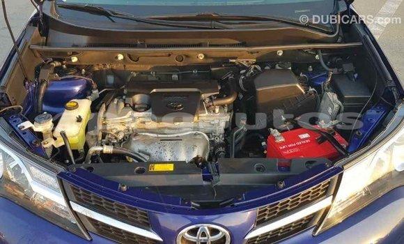 Buy Import Toyota RAV 4 Blue Car in Import - Dubai in Enga