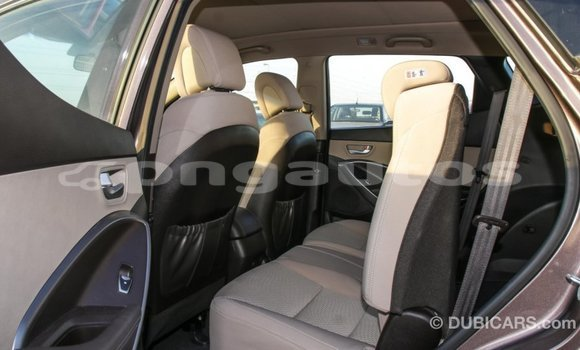 Buy Import Hyundai Santa Fe Brown Car in Import - Dubai in Enga