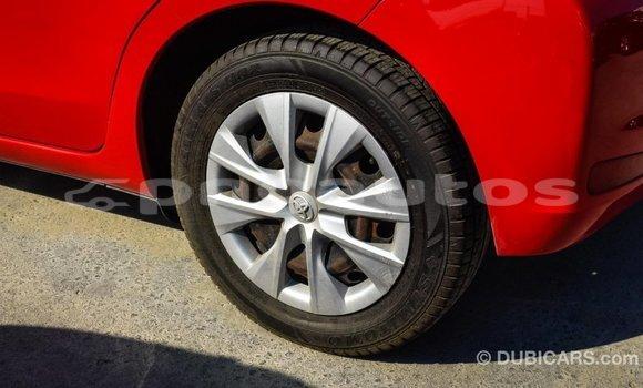 Buy Import Toyota Yaris Red Car in Import - Dubai in Enga