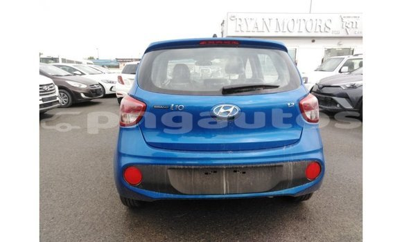 Buy Import Hyundai i10 Blue Car in Import - Dubai in Enga