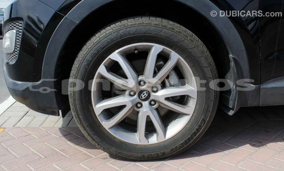 Buy Import Hyundai Santa Fe Black Car in Import - Dubai in Enga