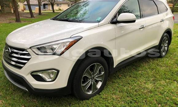 Buy Import Hyundai Santa Fe White Car in Monara in Madang