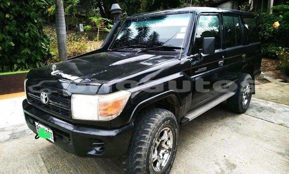 Buy Used Toyota Landcruiser Black Car in Lae in Morobe