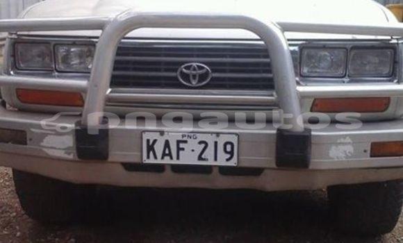 Buy Used Toyota Landcruiser Silver Car in Lae in Morobe