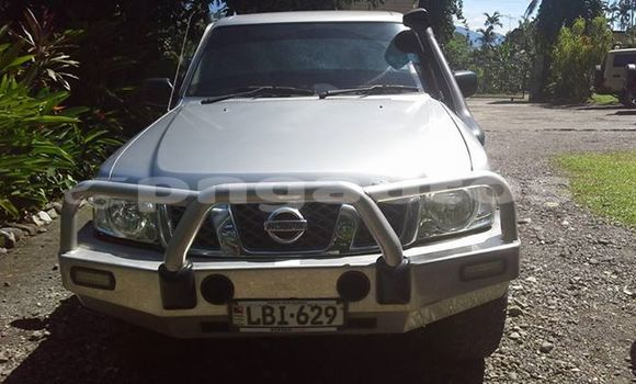 Buy Used Nissan Patrol Silver Car in Port Moresby in National Capital District