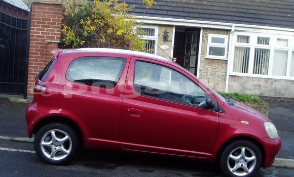 Buy Used Toyota Yaris Red Car in Port Moresby in National Capital District