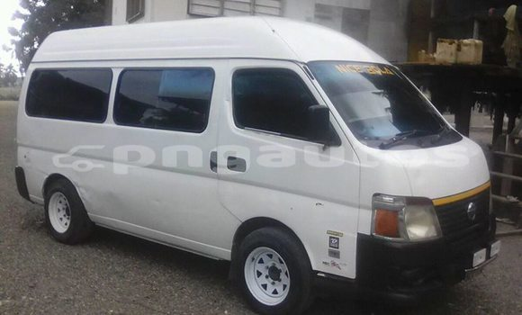 Buy Used Nissan Urvan White Car in Port Moresby in National Capital District