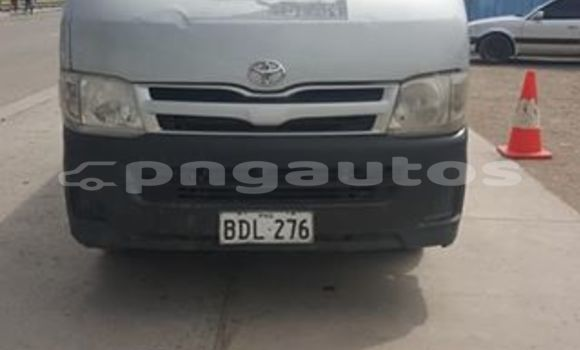 Buy Used Toyota Hiace Silver Car in Port Moresby in National Capital District