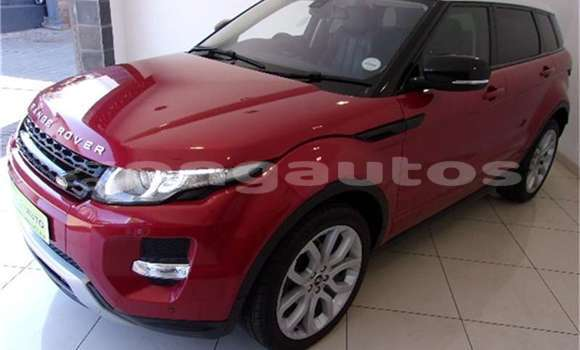 Buy Used Land Rover Range Rover Evoque Red Car in Alotau in Milne Bay
