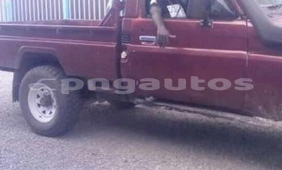 Buy Used Toyota Landcruiser Red Car in Port Moresby in National Capital District