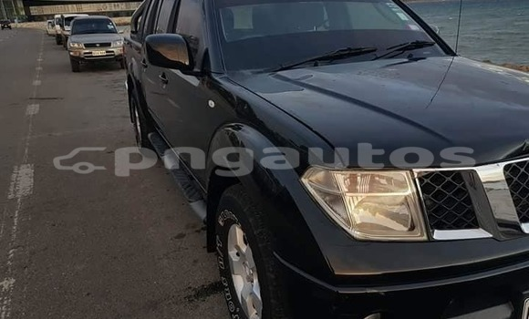 Buy Used Nissan Navara Black Car in Port Moresby in National Capital District