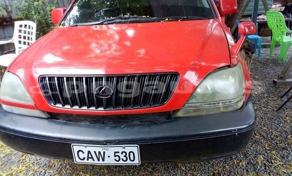 Buy Used Toyota Harrier Red Car in Port Moresby in National Capital District
