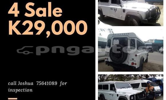 Buy Imported Land Rover Defender White Car in Port Moresby in National Capital District