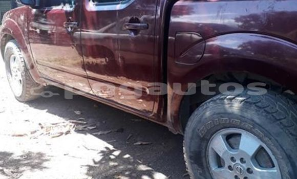 Buy Imported Nissan Navara Red Car in Port Moresby in National Capital District