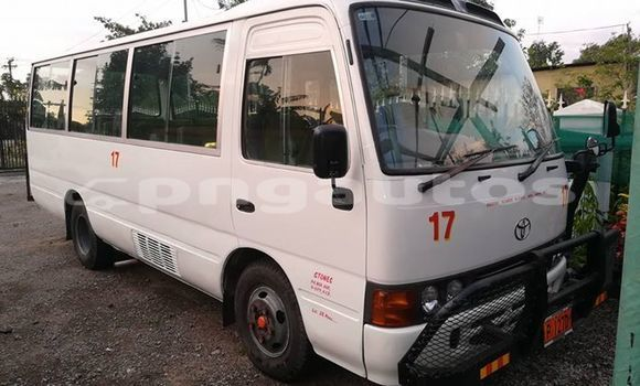 Buy Imported Toyota Coaster White Car in Port Moresby in National Capital District