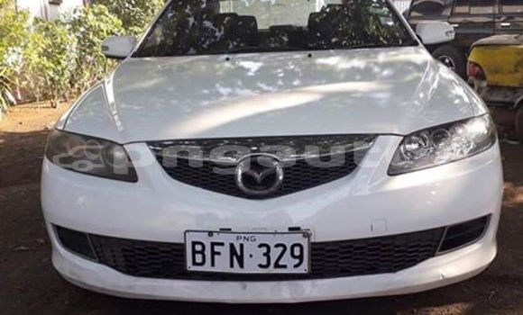 Buy Used Mazda Atenza White Car in Port Moresby in National Capital District