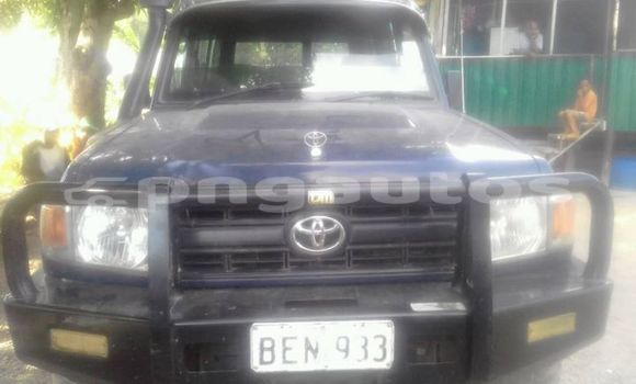 Buy Used Toyota Landcruiser Blue Car in Port Moresby in National Capital District
