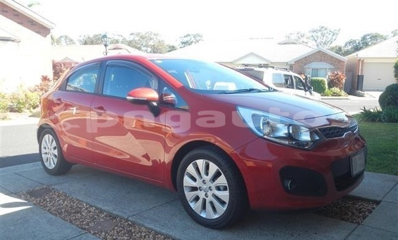 Buy Used Kia Rio Red Car in Lorengau in Manus