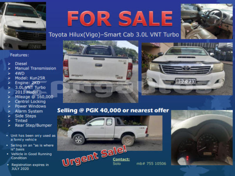Big with watermark toyota hilux national capital district port moresby 6531