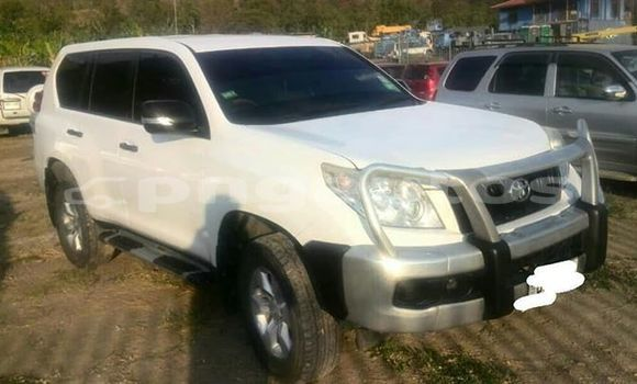 Buy Used Toyota Land Cruiser Prado White Car in Port Moresby in National Capital District