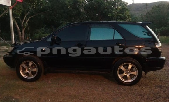 Buy Used Toyota Harrier Black Car in Port Moresby in National Capital District