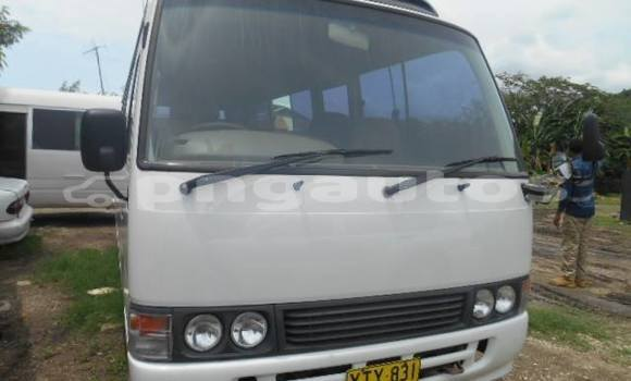 Buy Used Toyota Coaster White Car in Port Moresby in National Capital District