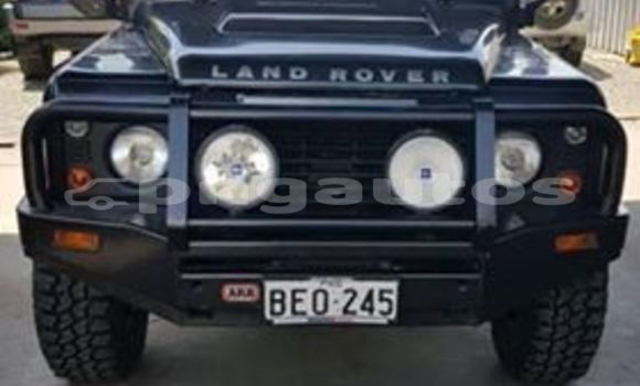 Buy Used Land Rover Defender Black Car in Port Moresby in National Capital District