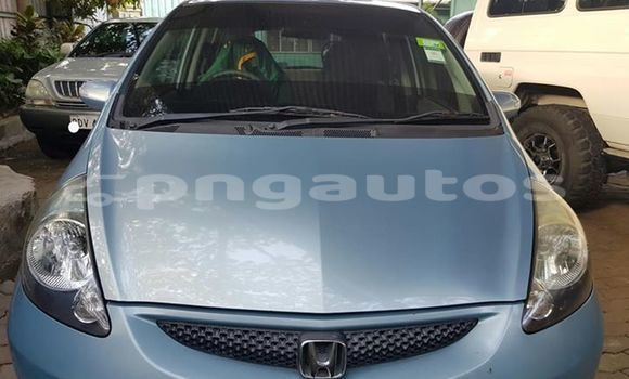 Buy Used Honda Fit Blue Car in Port Moresby in National Capital District