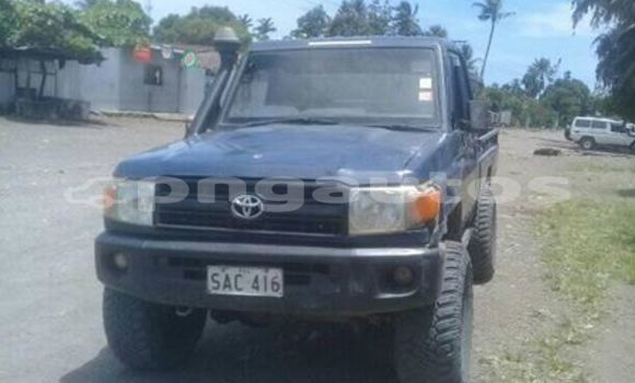 Buy Used Toyota Landcruiser Blue Car in Lae in Morobe