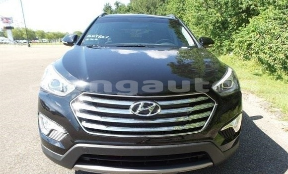 Buy Used Hyundai Santa Fe Black Car in Kabwum in Morobe