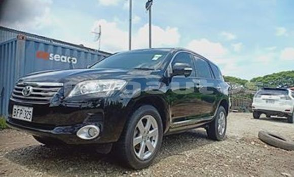 Buy Used Toyota Vanguard Black Car in Port Moresby in National Capital District