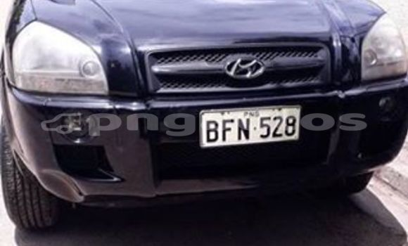 Buy Used Hyundai Tucson Black Car in Port Moresby in National Capital District