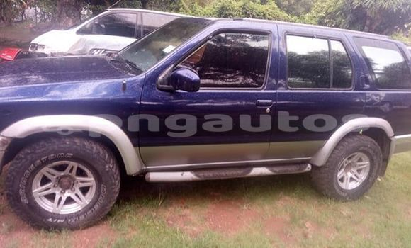 Buy Used Nissan Terrano Blue Car in Port Moresby in National Capital District