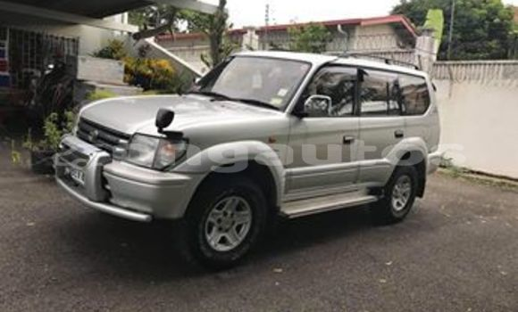 Buy Used Toyota Land Cruiser Prado Silver Car in Port Moresby in National Capital District