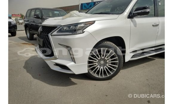 Buy Import Lexus LX White Car in Import - Dubai in Enga