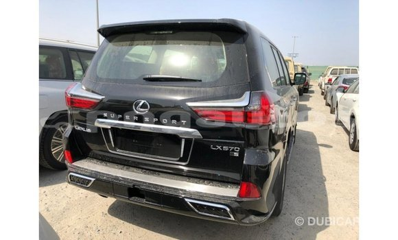 Buy Import Lexus LX Black Car in Import - Dubai in Enga