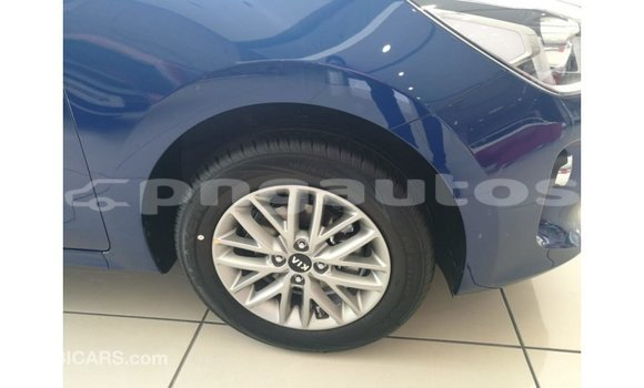 Buy Import Kia Rio Blue Car in Import - Dubai in Enga