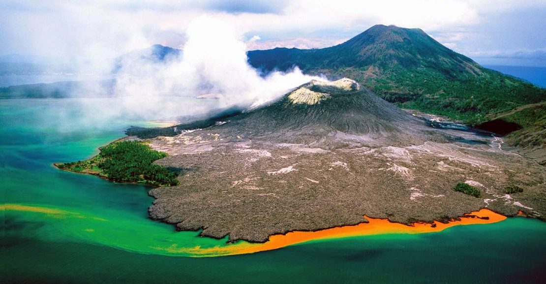 Rabaul volcano east new britain papua new guinea 1110x577